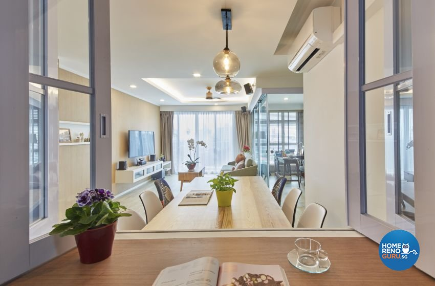 Contemporary, Scandinavian Design - Dining Room - HDB 5 Room - Design by I-chapter Pte Ltd