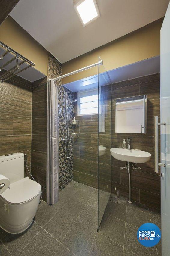 Contemporary, Scandinavian Design - Bathroom - HDB 5 Room - Design by I-chapter Pte Ltd