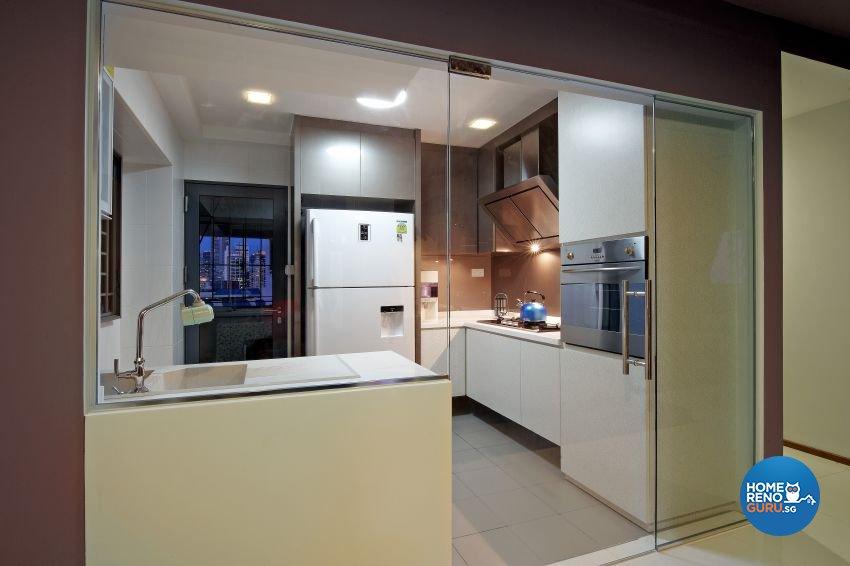 Modern Design - Kitchen - HDB 5 Room - Design by I-chapter Pte Ltd