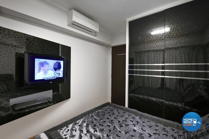 Modern Design - Bedroom - HDB 5 Room - Design by I-chapter Pte Ltd