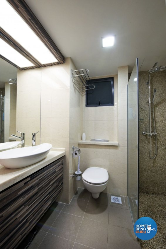 Modern Design - Bathroom - HDB 5 Room - Design by I-chapter Pte Ltd