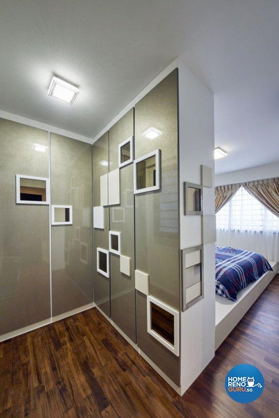 Modern, Resort, Tropical Design - Bedroom - HDB 5 Room - Design by I-chapter Pte Ltd