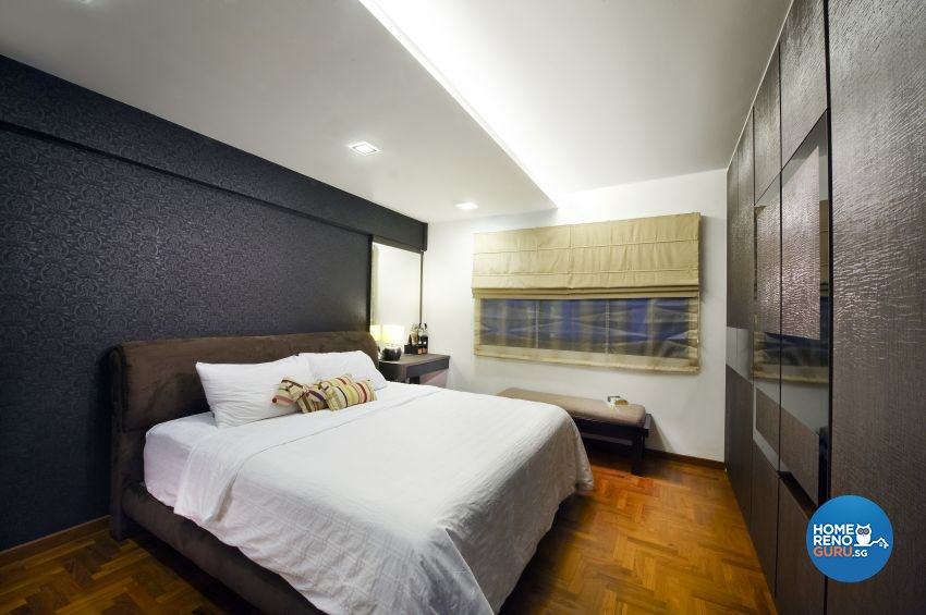Contemporary, Modern Design - Bedroom - HDB 5 Room - Design by I-chapter Pte Ltd