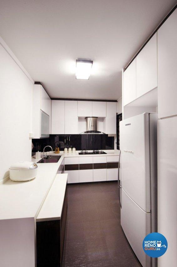 Contemporary, Modern Design - Kitchen - HDB 5 Room - Design by I-chapter Pte Ltd