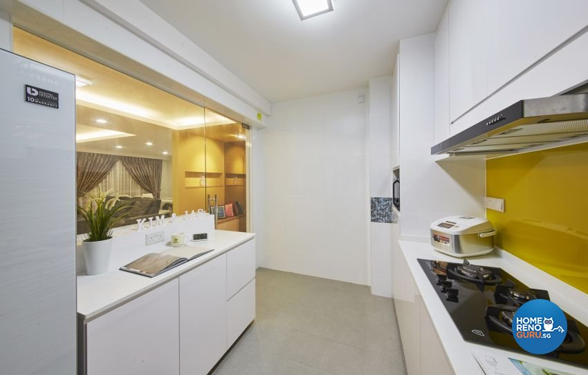 Contemporary, Modern Design - Kitchen - HDB 5 Room - Design by I-chapter Pte Ltd