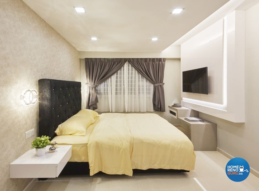 Contemporary, Modern Design - Bedroom - HDB 5 Room - Design by I-chapter Pte Ltd