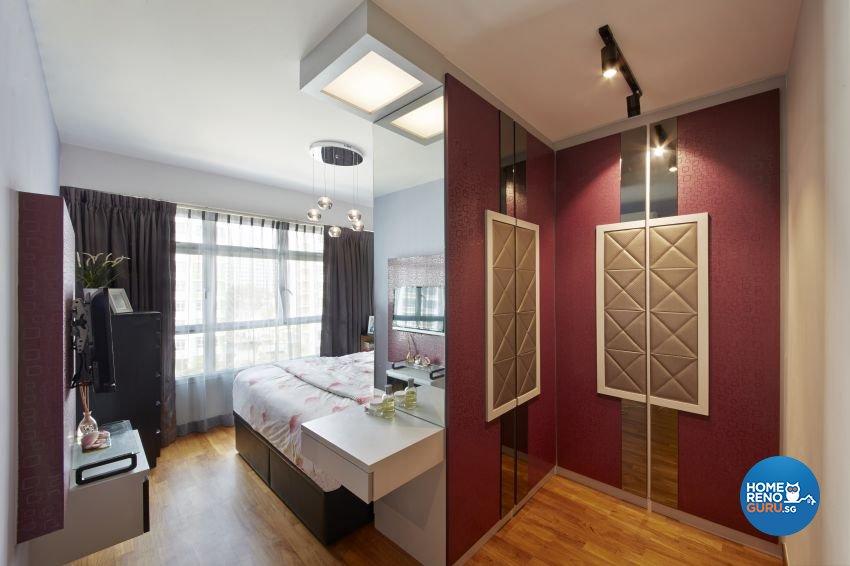 Tropical Design - Bedroom - HDB 5 Room - Design by I-chapter Pte Ltd