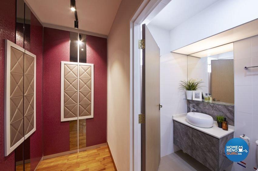 Tropical Design - Bathroom - HDB 5 Room - Design by I-chapter Pte Ltd