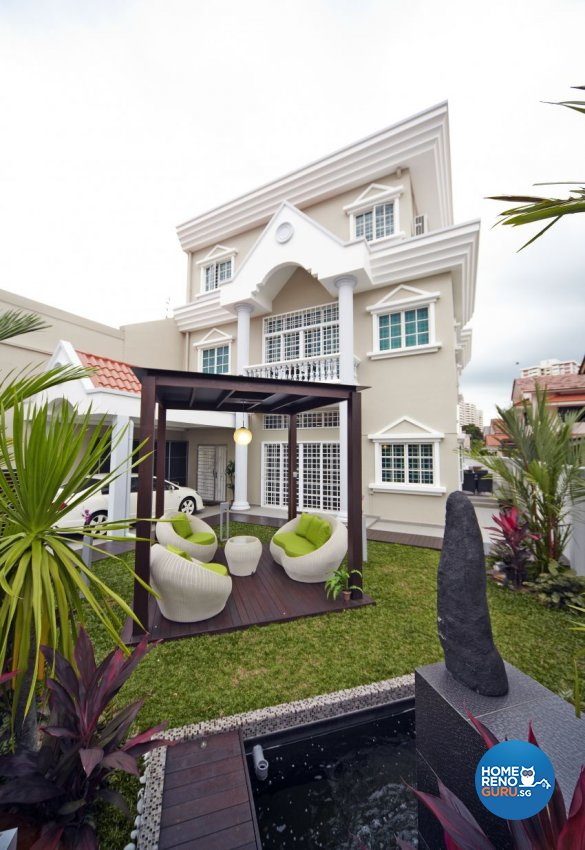 Classical, Modern Design - Garden - Landed House - Design by I-chapter Pte Ltd