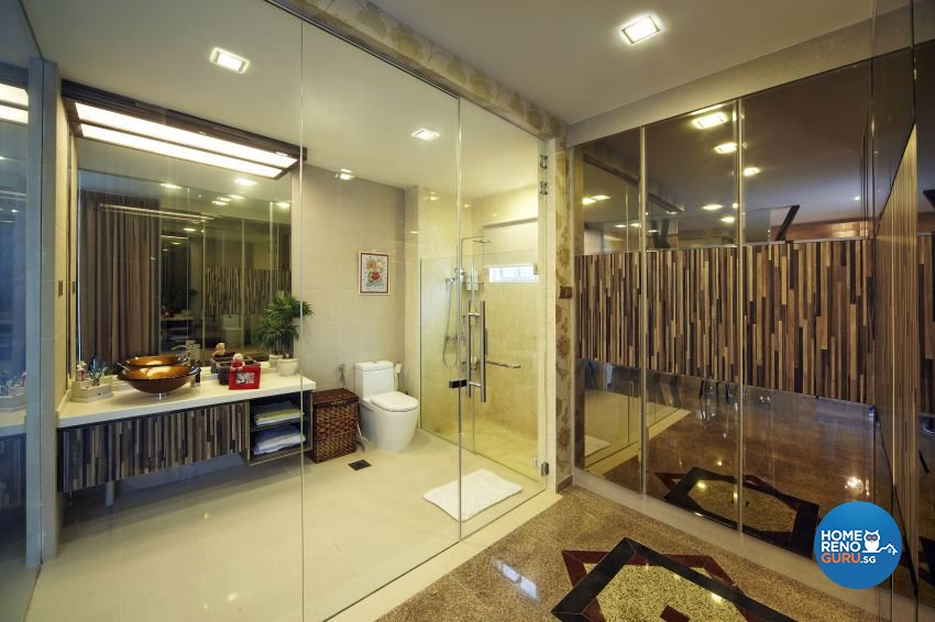 Classical, Modern Design - Bathroom - Landed House - Design by I-chapter Pte Ltd