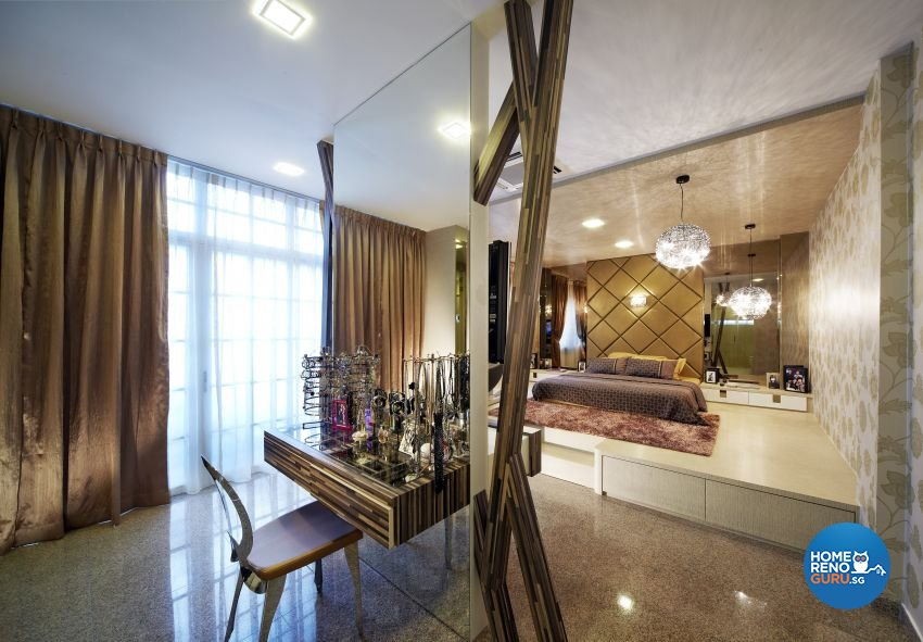 Classical, Modern Design - Bedroom - Landed House - Design by I-chapter Pte Ltd