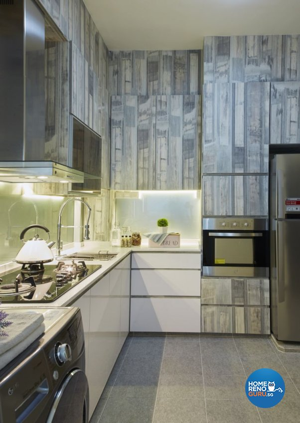 Contemporary Design - Kitchen -  - Design by I-chapter Pte Ltd