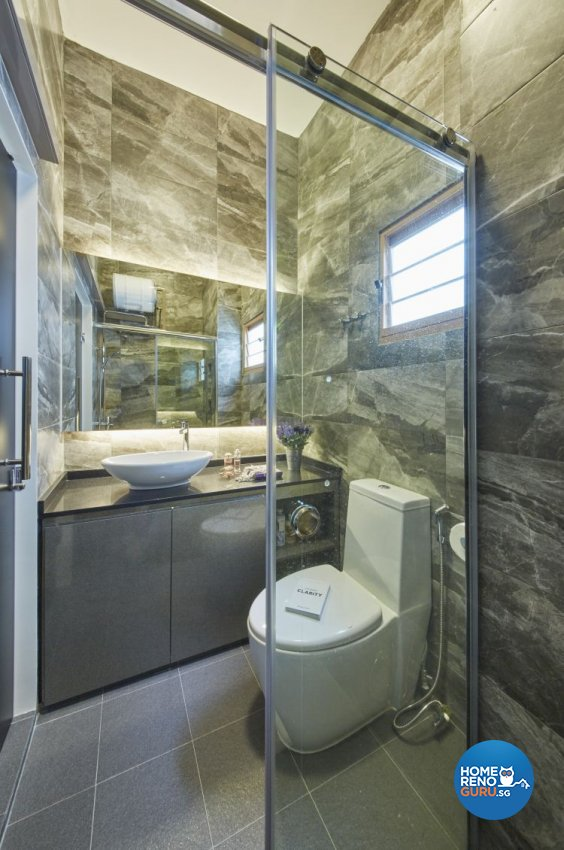 Contemporary Design - Bathroom -  - Design by I-chapter Pte Ltd