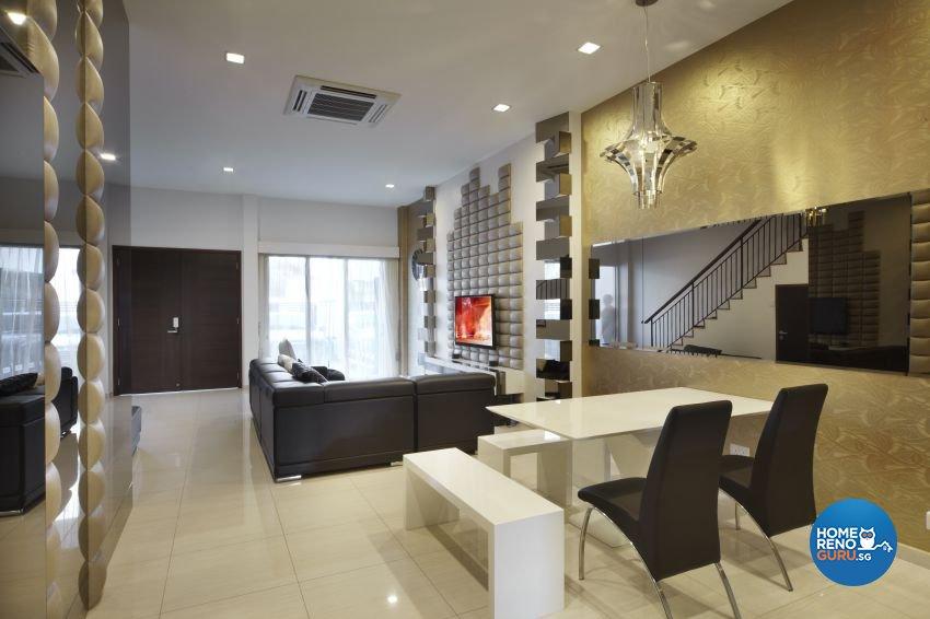 Modern Design - Dining Room - Landed House - Design by I-chapter Pte Ltd