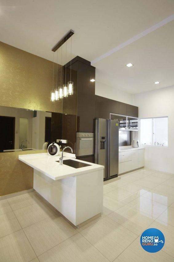 Modern Design - Kitchen - Landed House - Design by I-chapter Pte Ltd