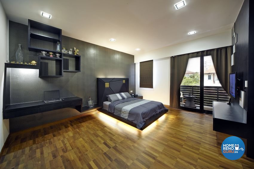 Modern Design - Bedroom - Landed House - Design by I-chapter Pte Ltd