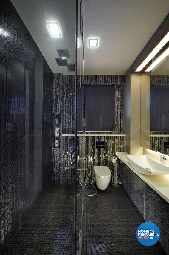 Modern Design - Bathroom - Landed House - Design by I-chapter Pte Ltd