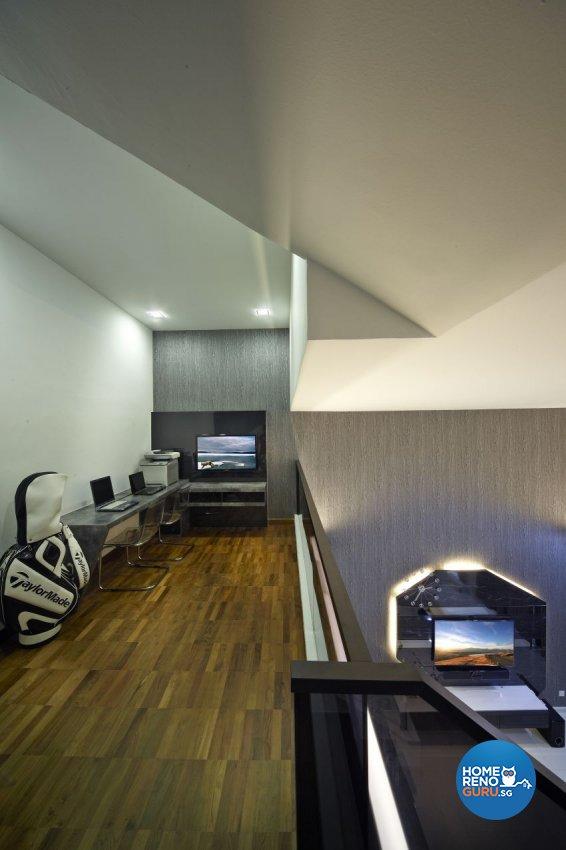 Modern Design - Entertainment Room - Landed House - Design by I-chapter Pte Ltd