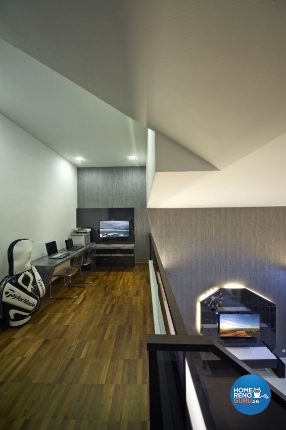 Modern Design - Entertainment Room - Landed House - Design by I-chapter Pte Ltd