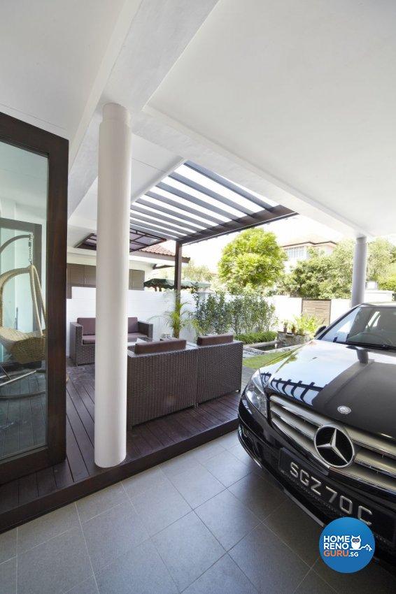 Modern Design - Balcony - Landed House - Design by I-chapter Pte Ltd