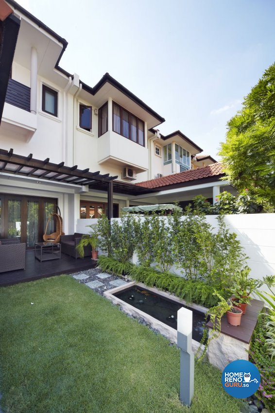 Modern Design - Balcony - Landed House - Design by I-chapter Pte Ltd