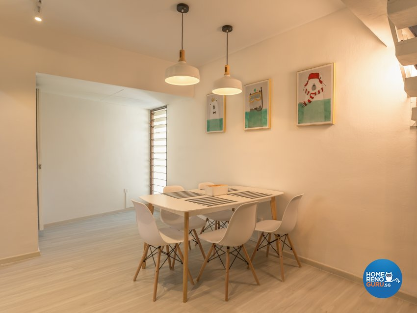 Scandinavian Design - Dining Room - Condominium - Design by I-chapter Pte Ltd