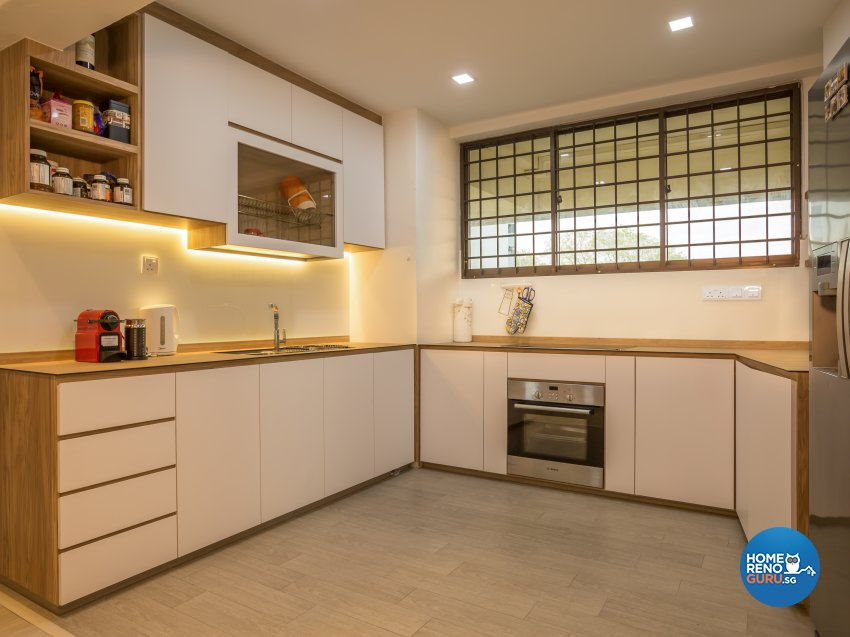 Scandinavian Design - Kitchen - Condominium - Design by I-chapter Pte Ltd