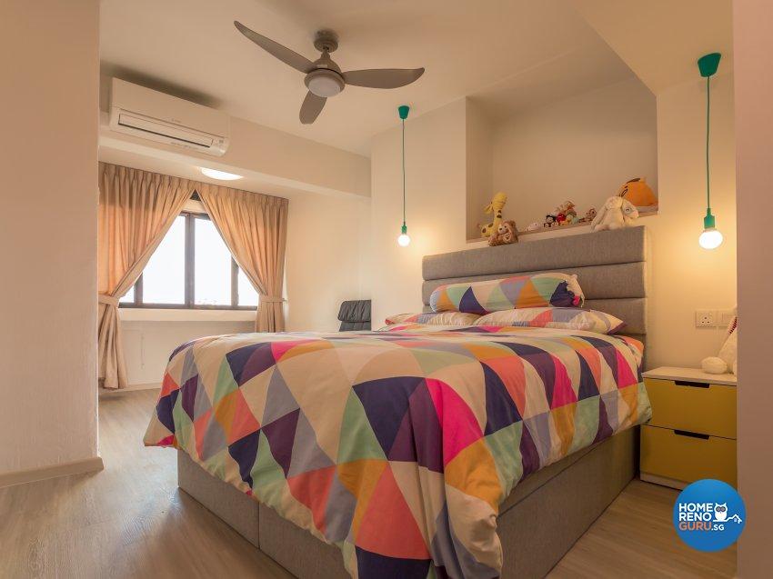 Scandinavian Design - Bedroom - Condominium - Design by I-chapter Pte Ltd