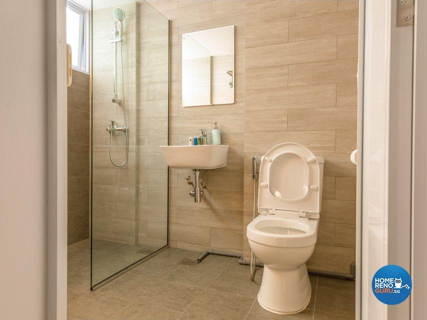 Scandinavian Design - Bathroom - Condominium - Design by I-chapter Pte Ltd