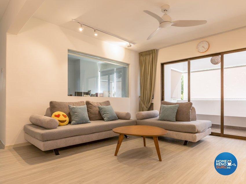 Scandinavian Design - Living Room - Condominium - Design by I-chapter Pte Ltd