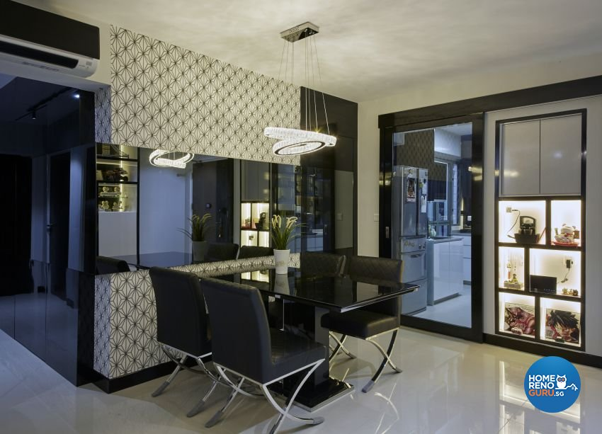 Modern Design - Dining Room - HDB 5 Room - Design by I-chapter Pte Ltd