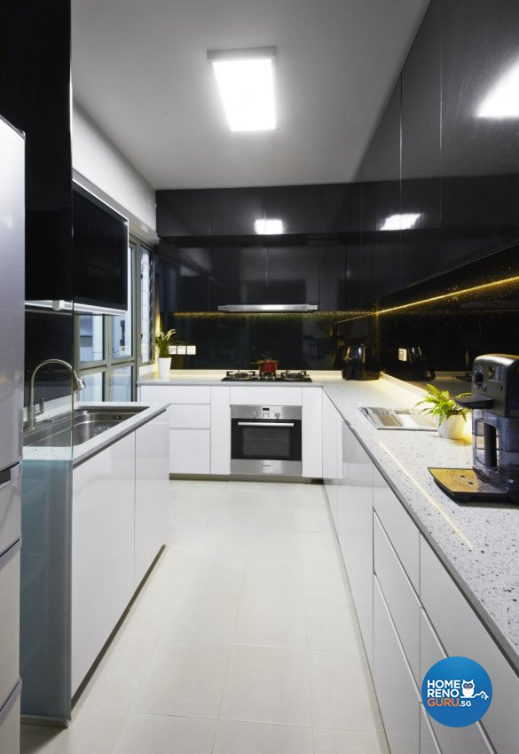 Modern Design - Kitchen - HDB 5 Room - Design by I-chapter Pte Ltd