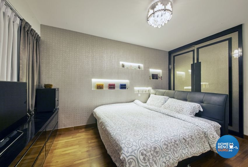 Modern Design - Bedroom - HDB 5 Room - Design by I-chapter Pte Ltd