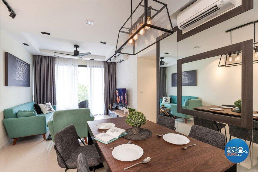 Contemporary, Scandinavian Design - Living Room - Condominium - Design by Icon Interior Design