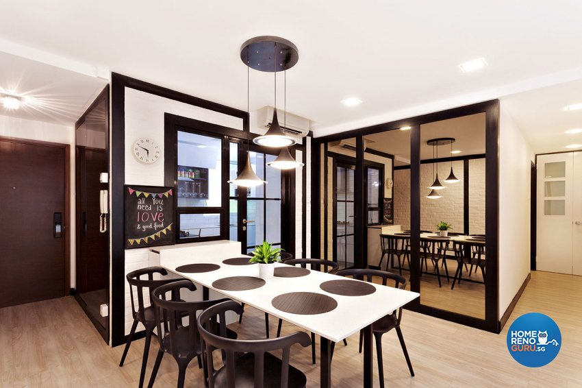 Contemporary, Scandinavian Design - Dining Room - Condominium - Design by Icon Interior Design