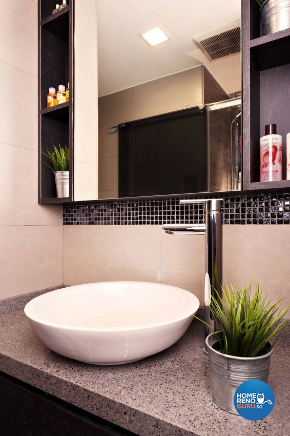 Contemporary, Scandinavian Design - Bathroom - Condominium - Design by Icon Interior Design