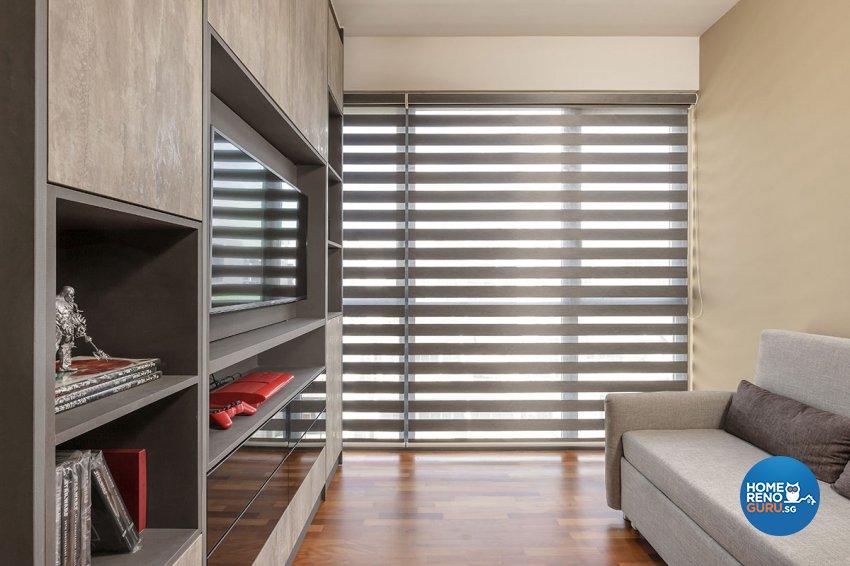 Contemporary, Modern Design - Entertainment Room - Condominium - Design by Icon Interior Design