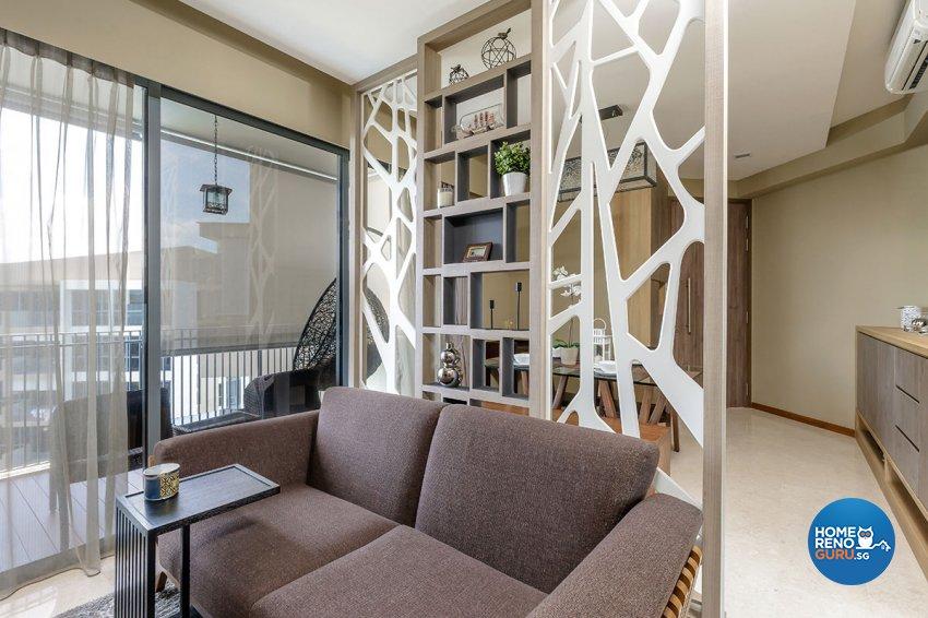 Contemporary, Modern Design - Living Room - Condominium - Design by Icon Interior Design