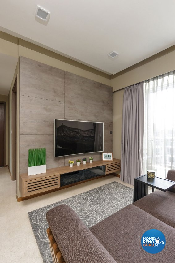 Contemporary, Modern Design - Living Room - Condominium - Design by Icon Interior Design
