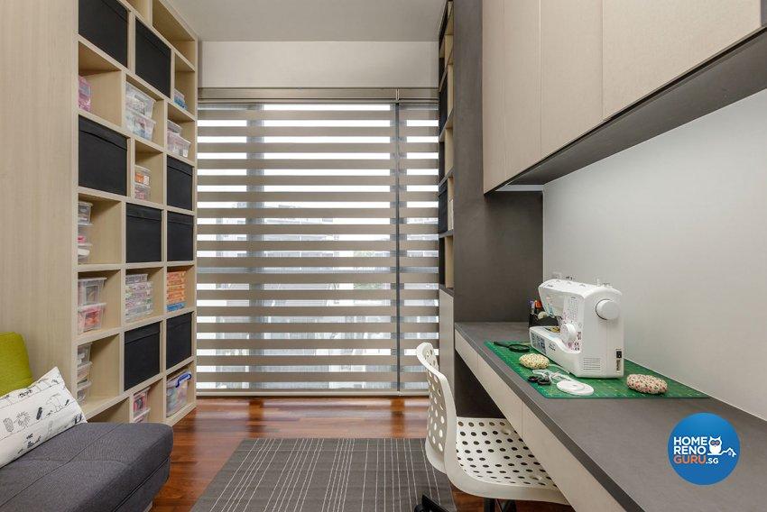 Contemporary, Modern Design - Study Room - Condominium - Design by Icon Interior Design