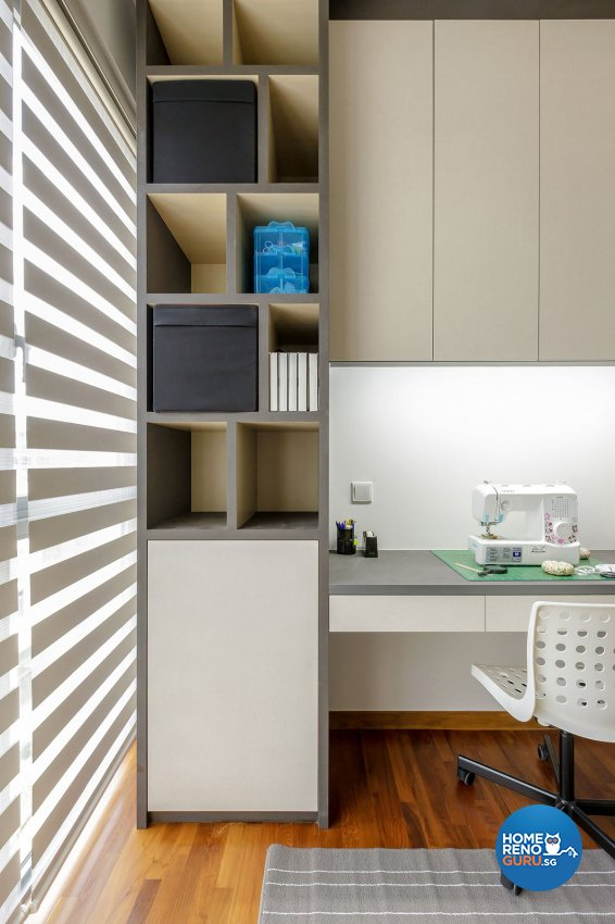 Contemporary, Modern Design - Study Room - Condominium - Design by Icon Interior Design
