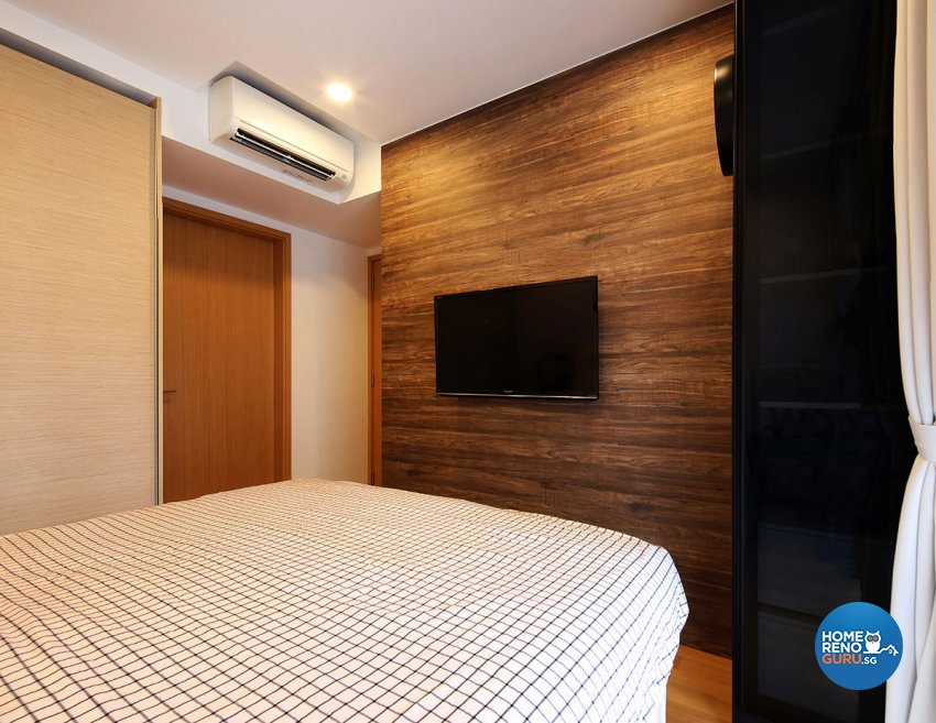 Modern Design - Bedroom - Condominium - Design by Icon Interior Design