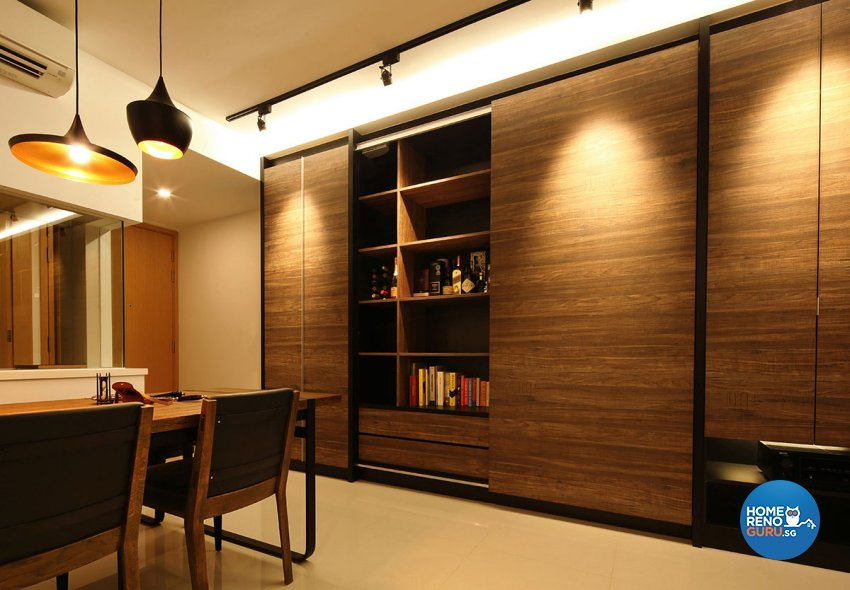 Modern Design - Dining Room - Condominium - Design by Icon Interior Design