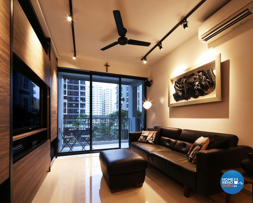 Modern Design - Living Room - Condominium - Design by Icon Interior Design
