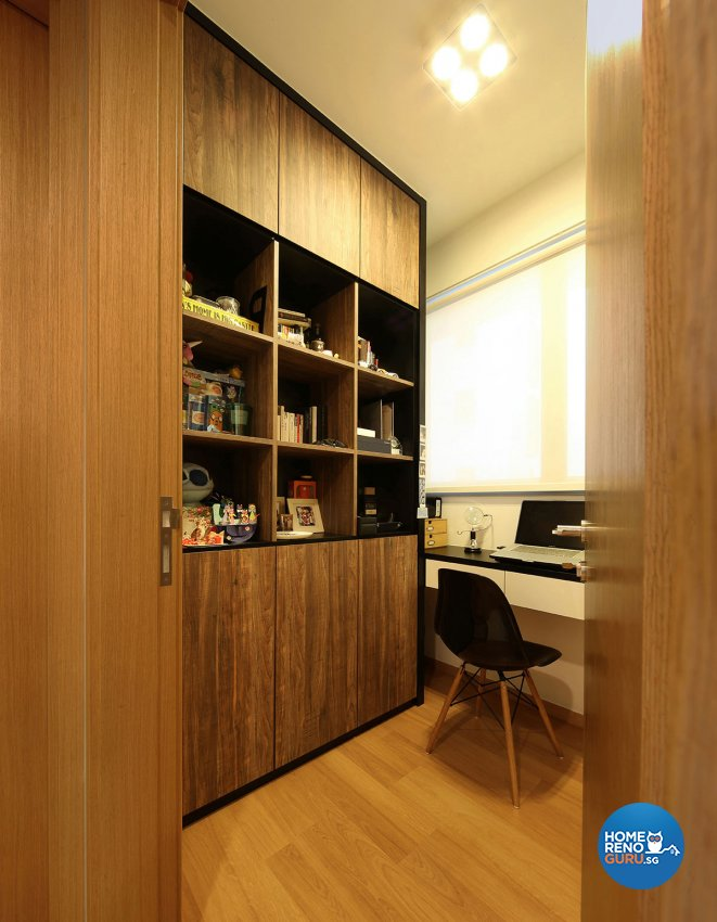 Modern Design - Study Room - Condominium - Design by Icon Interior Design