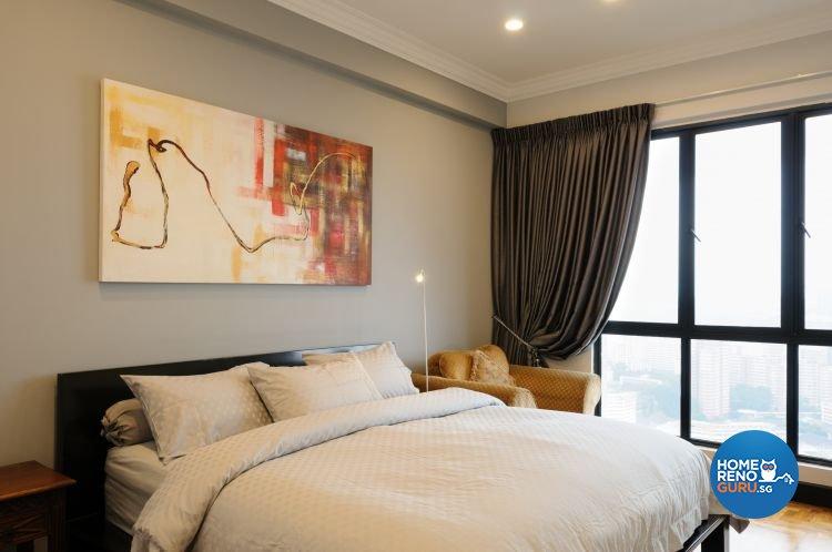 Contemporary, Minimalist Design - Bedroom - Condominium - Design by Icon Interior Design