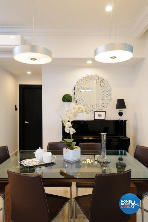Contemporary, Minimalist Design - Dining Room - Condominium - Design by Icon Interior Design