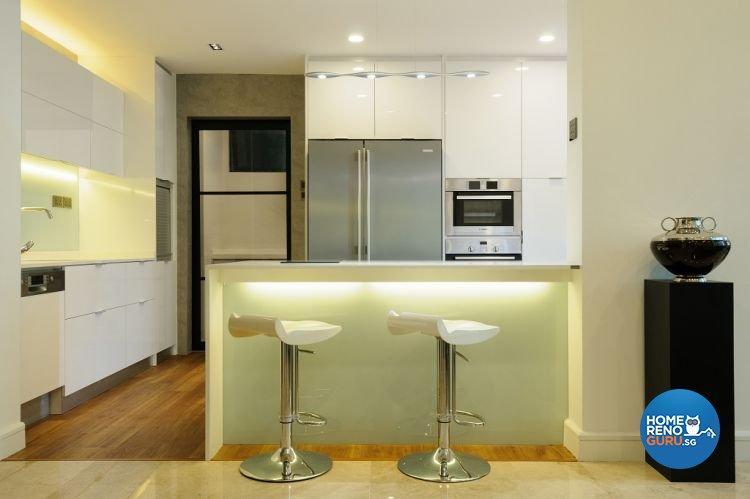 Contemporary, Minimalist Design - Kitchen - Condominium - Design by Icon Interior Design