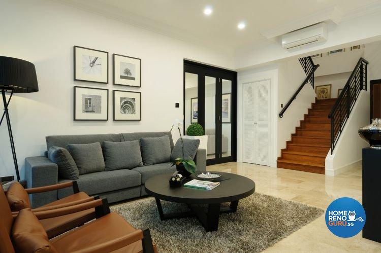 Contemporary, Minimalist Design - Living Room - Condominium - Design by Icon Interior Design