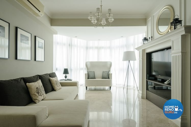 Classical, Contemporary, Minimalist Design - Living Room - Condominium - Design by Icon Interior Design